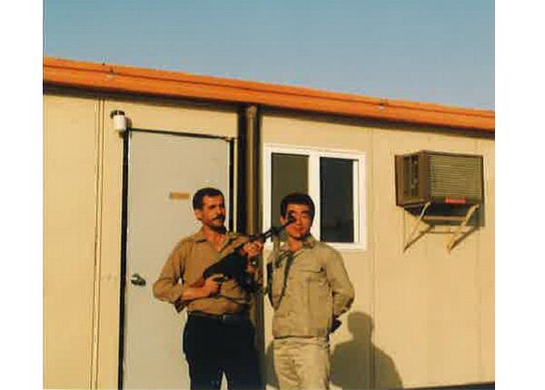 1984年10月 IJPC マシャール・キャンプにて
