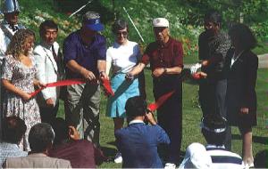 ゴルフ場オープニング セレモニー(1993年6月24日、カリフォルニア州、カマリロ市