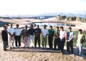 ジャンボ尾崎軍団の春合宿 (1994年2月)