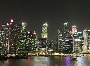 シンガポールの金融街